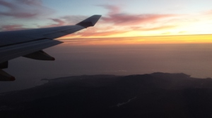 Plane-view Sunset